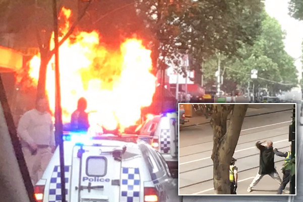 Two People Are Dead And Two Others Have Been Injured In What Police Are Treating As A Incident On Bourke Street