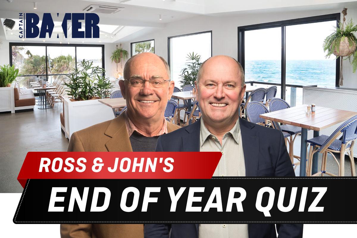 Ross & John's Big Breakfast End Of Year Quiz