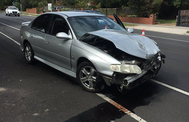 Article image for Pair arrested after alleged hit-run