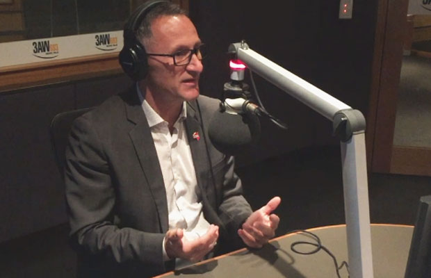 """Richard Di Natale says """"somebody had to take a stand"""" over sexism in the Senate"""