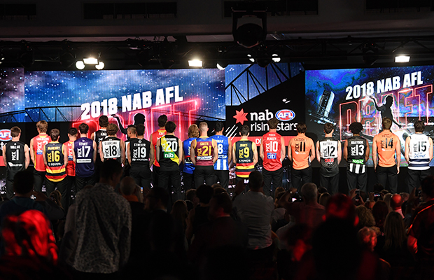 Article image for Five ways to improve the AFL draft coverage