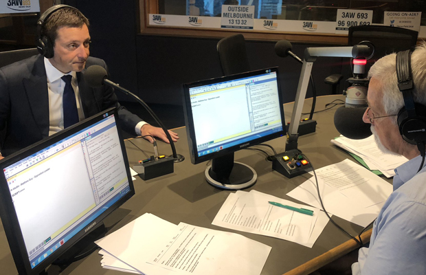 Article image for Full interview: Matthew Guy pitches his case to Neil Mitchell