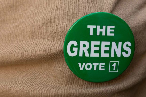 Article image for Greens candidate caught up in social media scandal, withdraws from election race