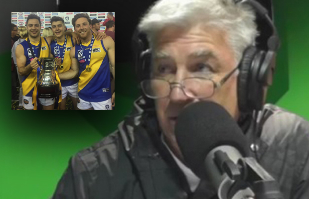 """Gerard Healy says it's a """"joke"""" this man isn't on an AFL list"""