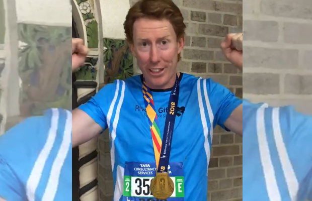 Cameron Ling completes New York Marathon for charity!