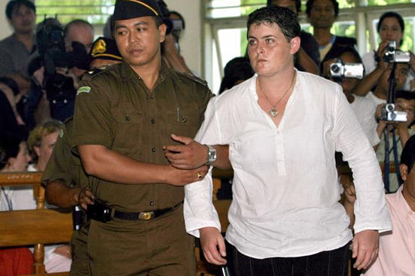 Article image for First of the Bali Nine drug smugglers to walk free from jail