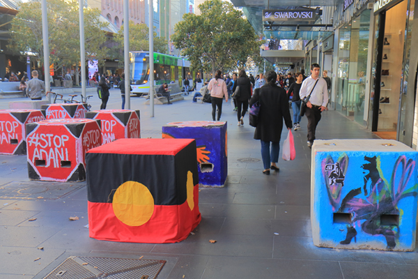 Article image for CBD sites to be bolstered by steel bollards in bid to thwart terror attacks