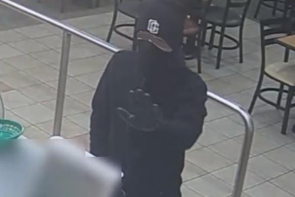 Article image for CCTV: Bike burglar uses gun in terrifying restaurant, servo hold-ups