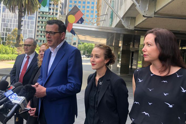 Article image for Daniel Andrews announces new line-up with women making up 50 per cent of cabinet