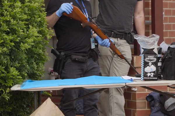 Article image for Eleven arrested + firearms, swords, drugs and cash seized in raids across Melbourne's north west