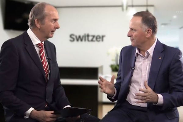 Coffee with Switzer- John Key