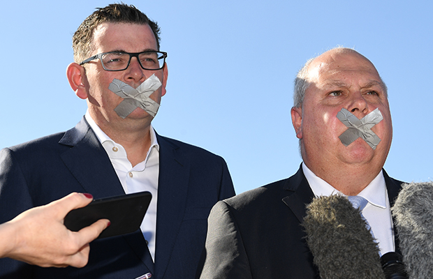 Article image for This could be Victoria's next big political scandal, and the Treasurer won't talk to Neil about it