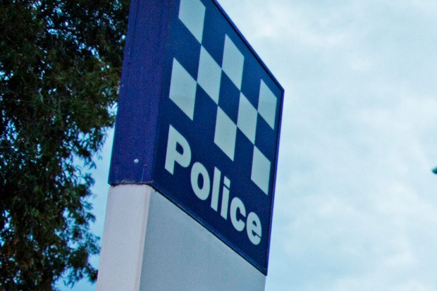 Article image for Armed man allegedly storms Williamstown police station