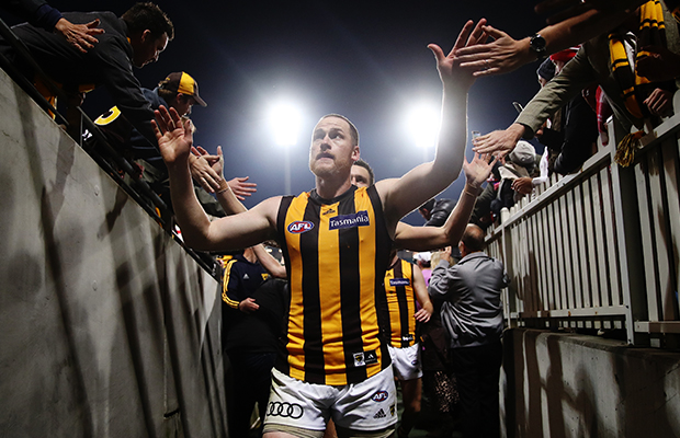 Article image for Jarryd Roughead steps down as Hawthorn captain