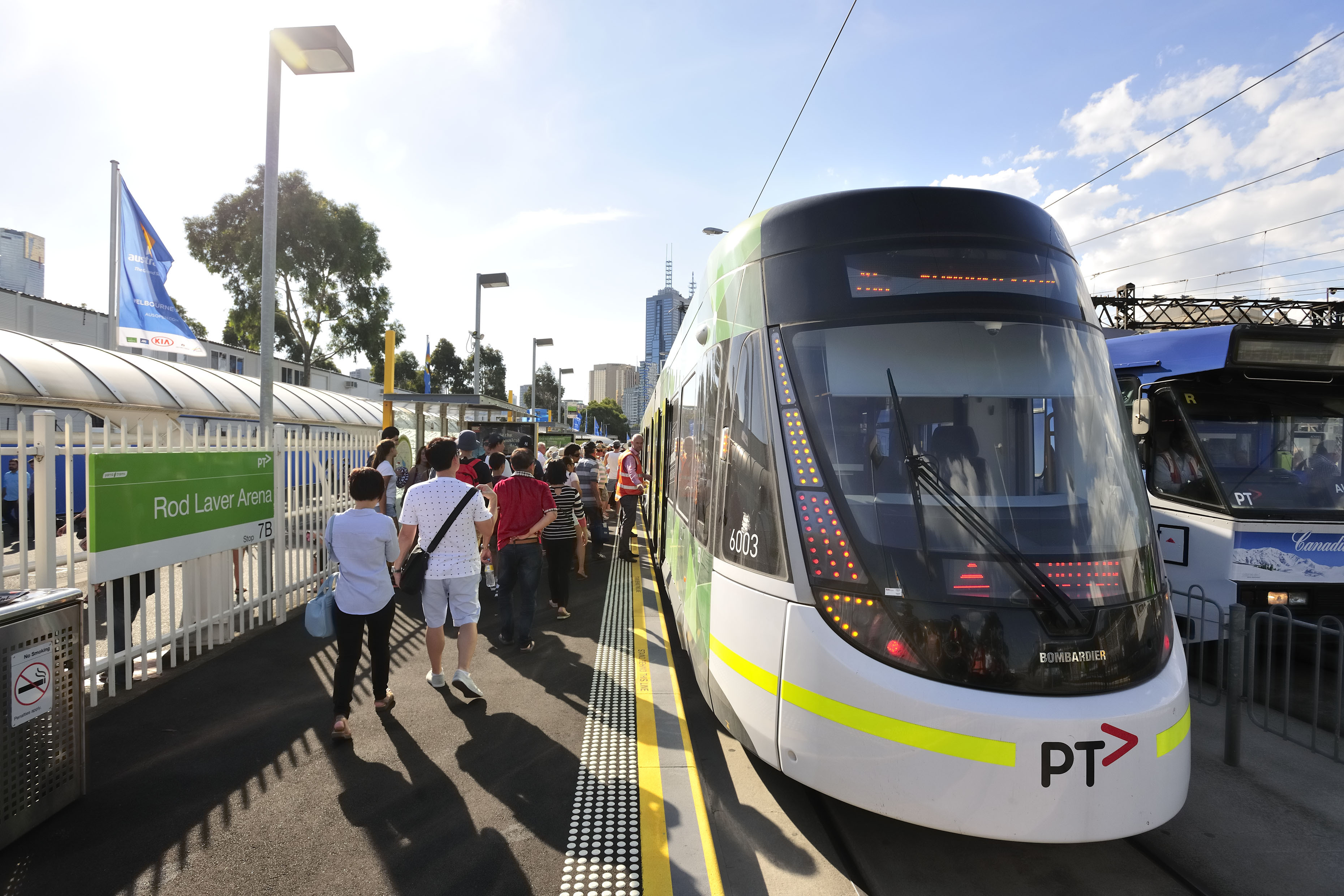 Article image for Tram union says they 'have no other option' but to strike during the Australian Open