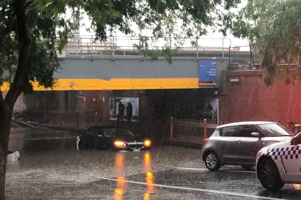 Article image for Flash flooding wreaks havoc around Melbourne