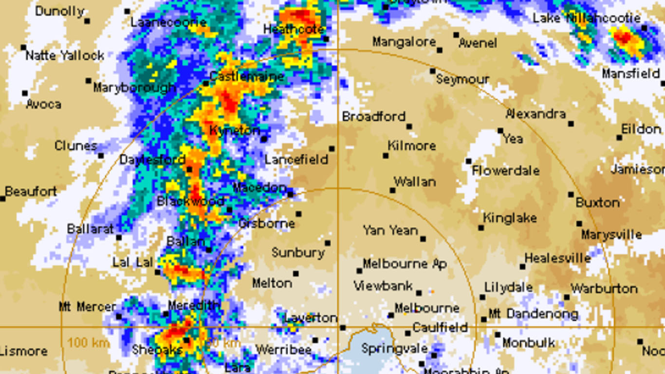 Article image for Wild weather: Peak hour storm sees flash flooding across Melbourne