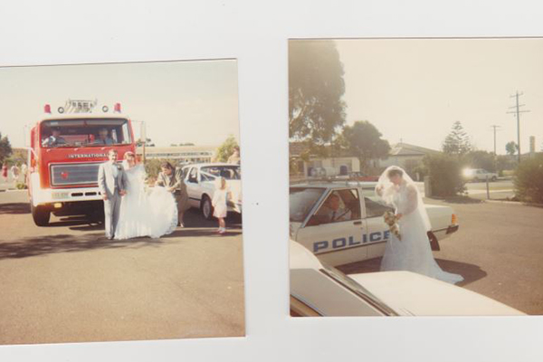 Article image for Search for owners of small wedding photo album found near Moonee Ponds creek