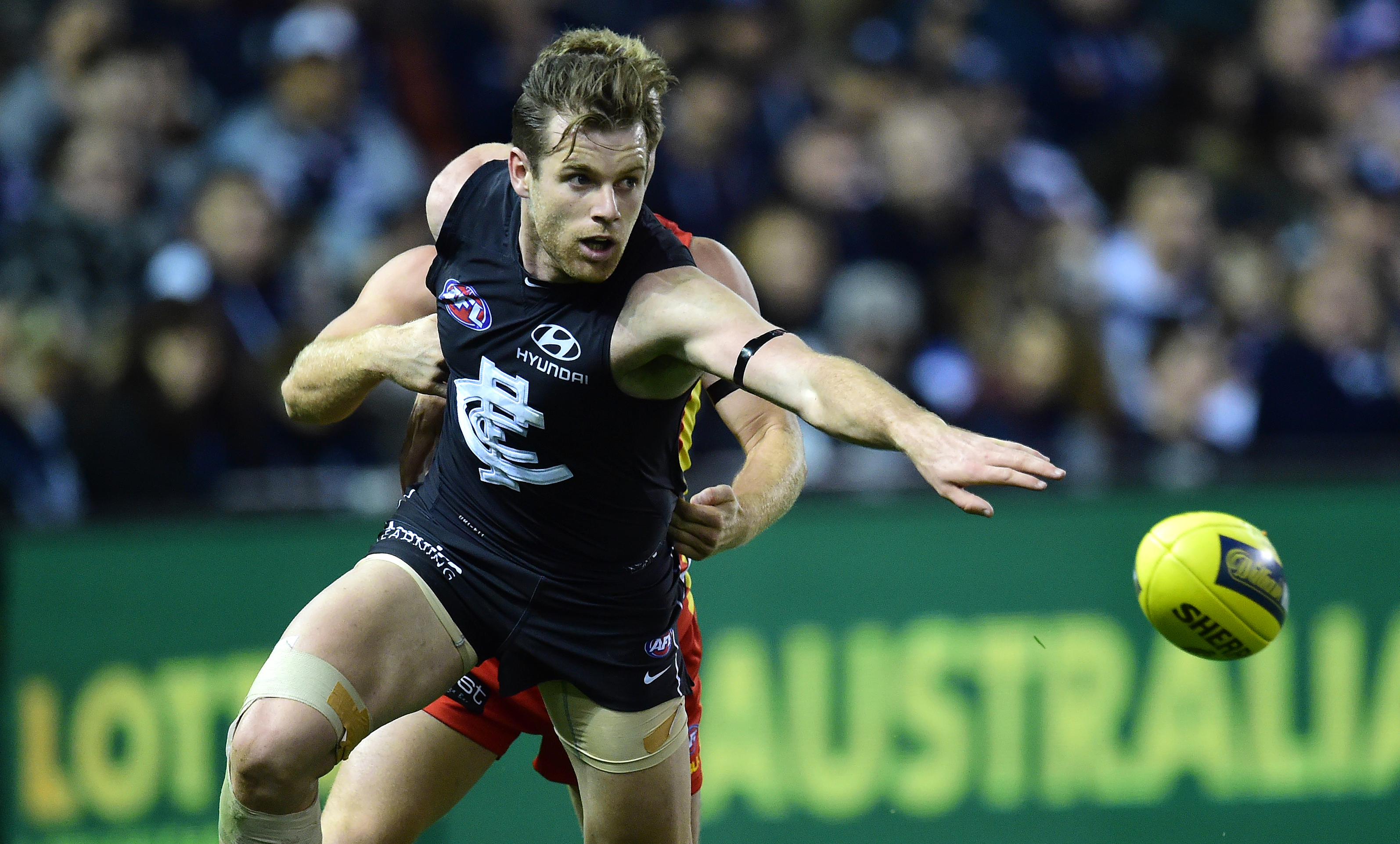 Article image for Another ACL injury for Carlton star