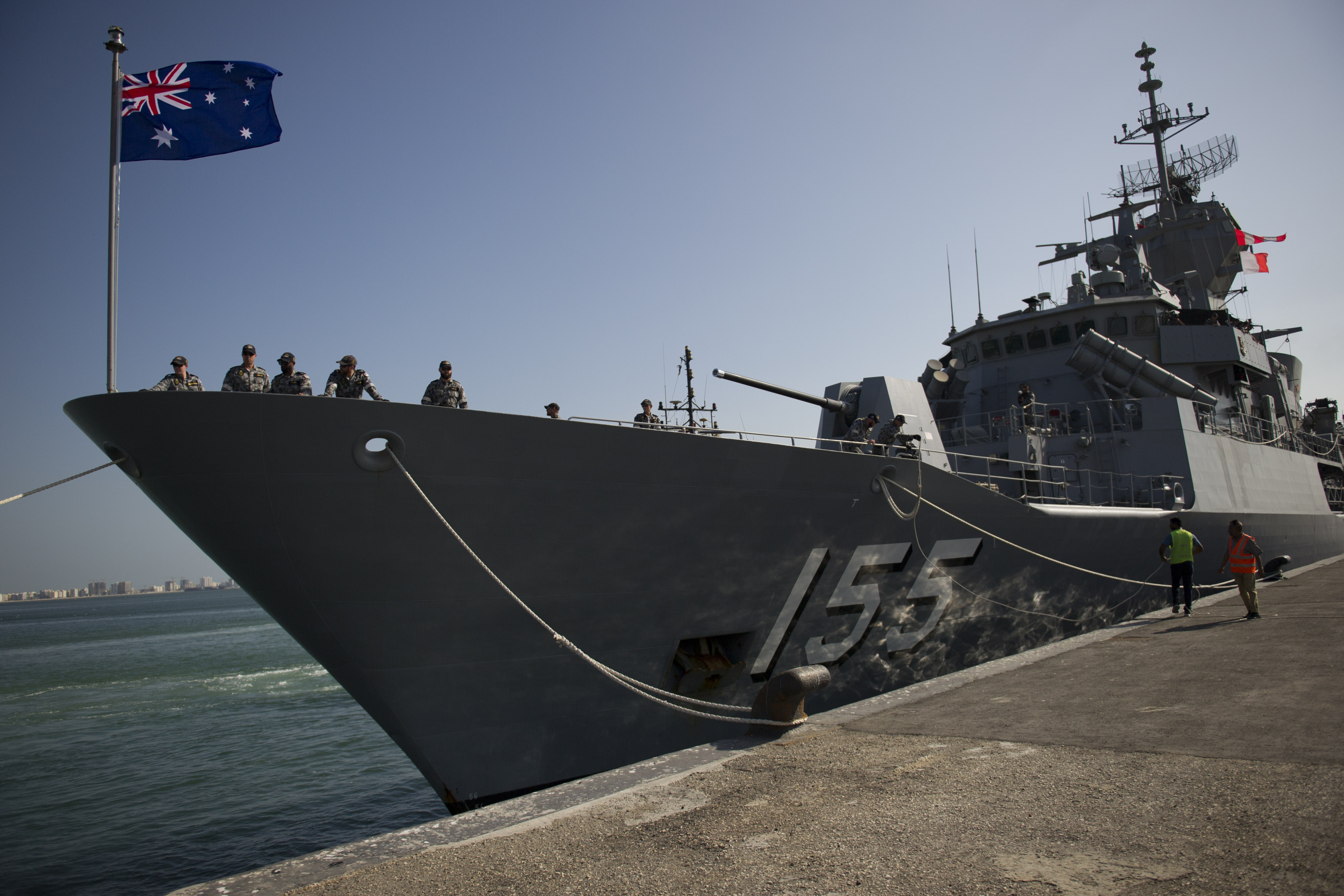 Article image for Australian Navy seizes massive drug haul in the Middle East