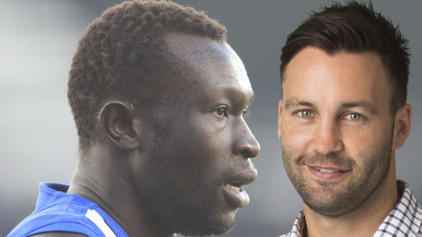 Article image for Jimmy Bartel questions lack of action from AFL Players' Association after Majak Daw incident