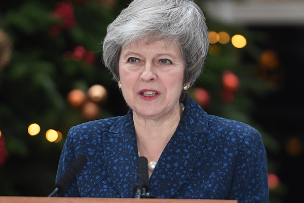 Article image for Britain in chaos: Theresa May could face leadership spill over Brexit