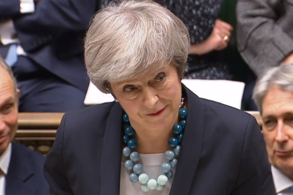 Article image for British political drama: PM May survives leadership challenge