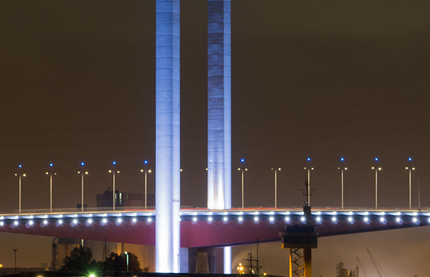 Article image for Not so fast: Bolte Bridge anomaly gives drivers false speed limit joy