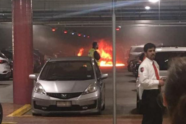 """Article image for Chadstone Shopping Centre car park evacuated after car """"exploded"""""""