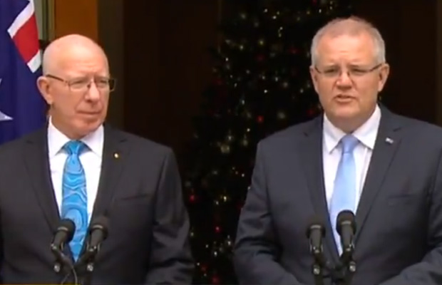 Article image for Scott Morrison announces ex-army chief as Australia's new Governor-General