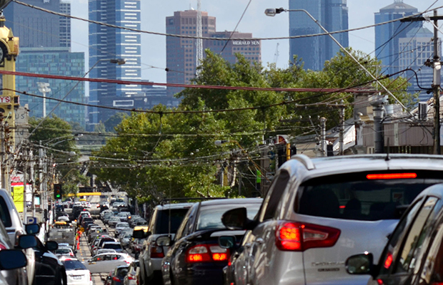 Article image for Stay calm, get creative: Melbourne traffic to boom by nearly 20% in Christmas rush