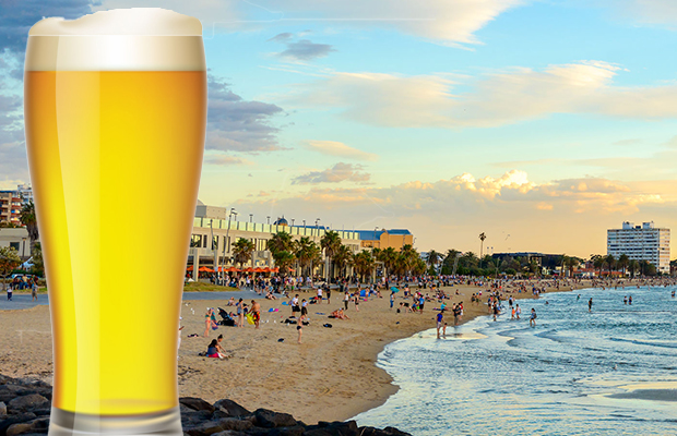 Article image for Dry summer: St Kilda's beach booze ban voted through