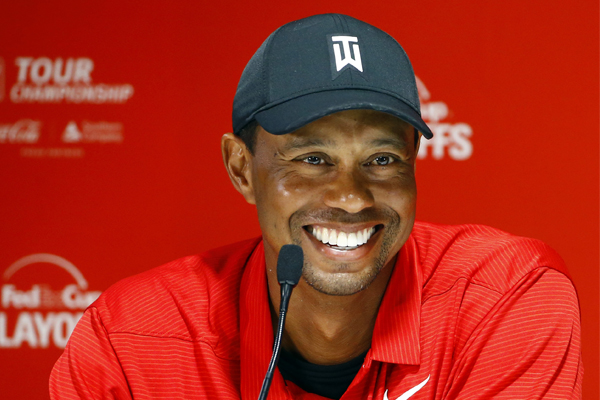 Article image for Tiger in town: Ross and John speak with one of the greatest golfers of all time