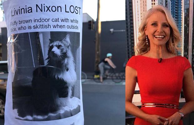 Livinia Nixon helps 3AW find a missing Collingwood cat called … Livinia Nixon!?