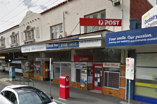 """Article image for """"I didn't want them to kill us"""": Three men threaten post office owner in Melbourne's east"""