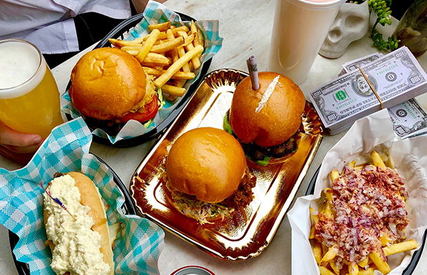 Article image for Melbourne burger bar raises eyebrows with a very controversial topping