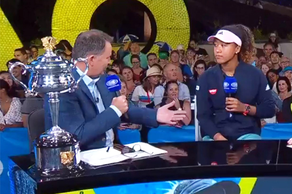 """Article image for """"They are cowards"""": Tony Jones responds to the social media critics of his Naomi Osaka interview"""