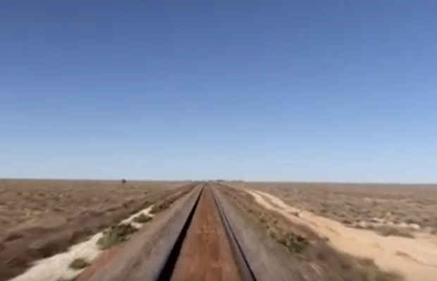 Article image for Indian Pacific film captures hearts and minds on Sunday night