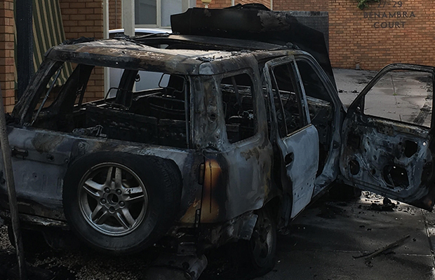 Article image for Dramatic evacuation: Mystery car explodes, rolls into Preston home