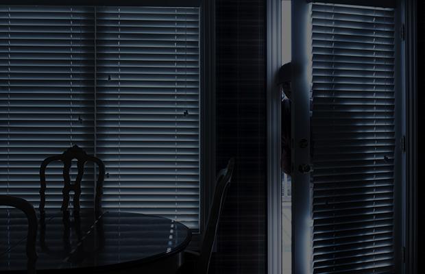 Burglar makes himself at home during break-in