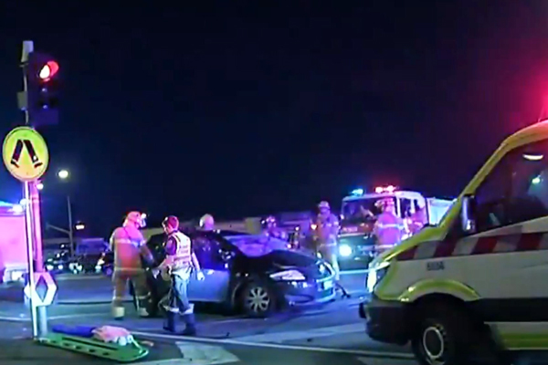 Article image for Seven people injured after serious crash on Princes Highway