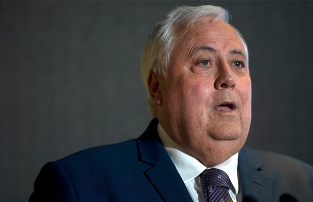 Article image for It seems Clive Palmer has just sent his worst (and most ironic) text message yet