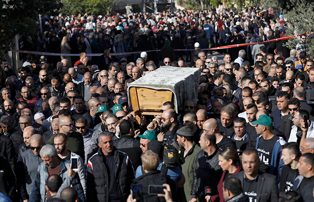 Article image for 'Blown away': Aiia Maasarwe laid to rest in 'unspeakably sad' hometown farewell