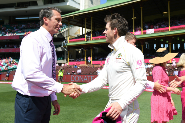 Glenn McGrath speaks on why the Pink Test means so much