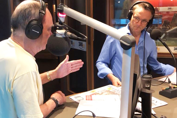 Article image for Gut health specialist Dr Michael Mosley joins Ross and John in the studio