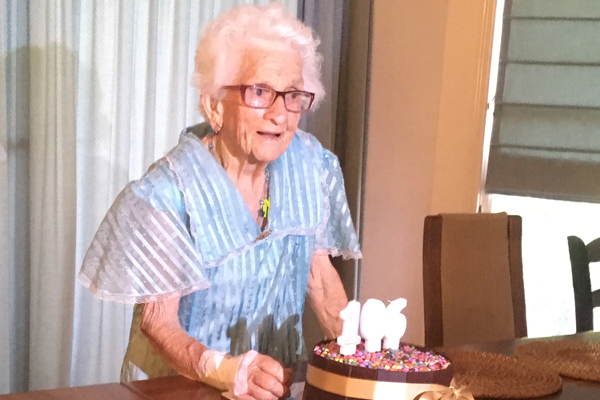 Article image for Happy 107th Birthday: Elizabeth Jordan's secret to longevity