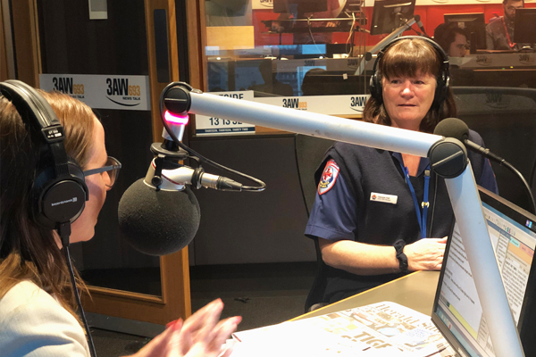 Article image for One of Victoria's first female paramedics, Georgie Hall retires after 30 years