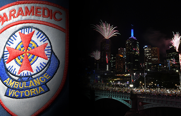 Article image for Paramedics inundated as Victorians start 2019 with too much bang