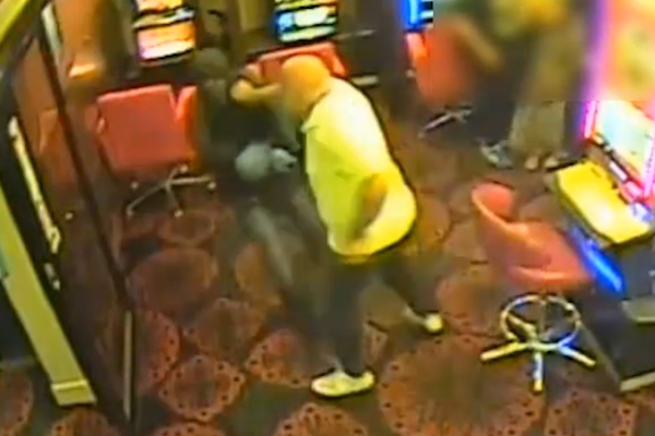 Article image for Video: Pokies player fights back in harrowing hold-up