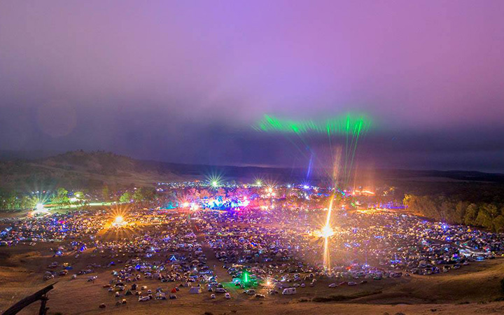 Article image for Rainbow Serpent festival marred by overdoses and arrests